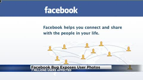 Facebook says bug may have exposed 6.8 million users' photos...